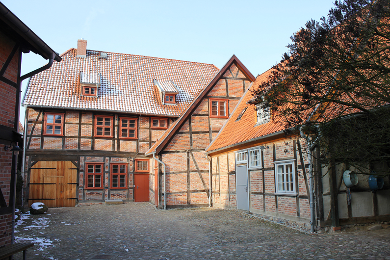 MuseumHagenow2, Foto Museum Hagenow, Hof