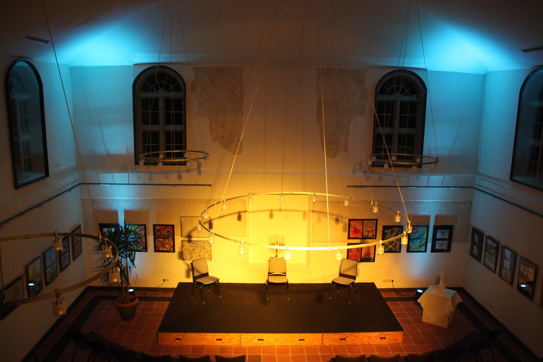 Alte Synagoge Hagenow innen