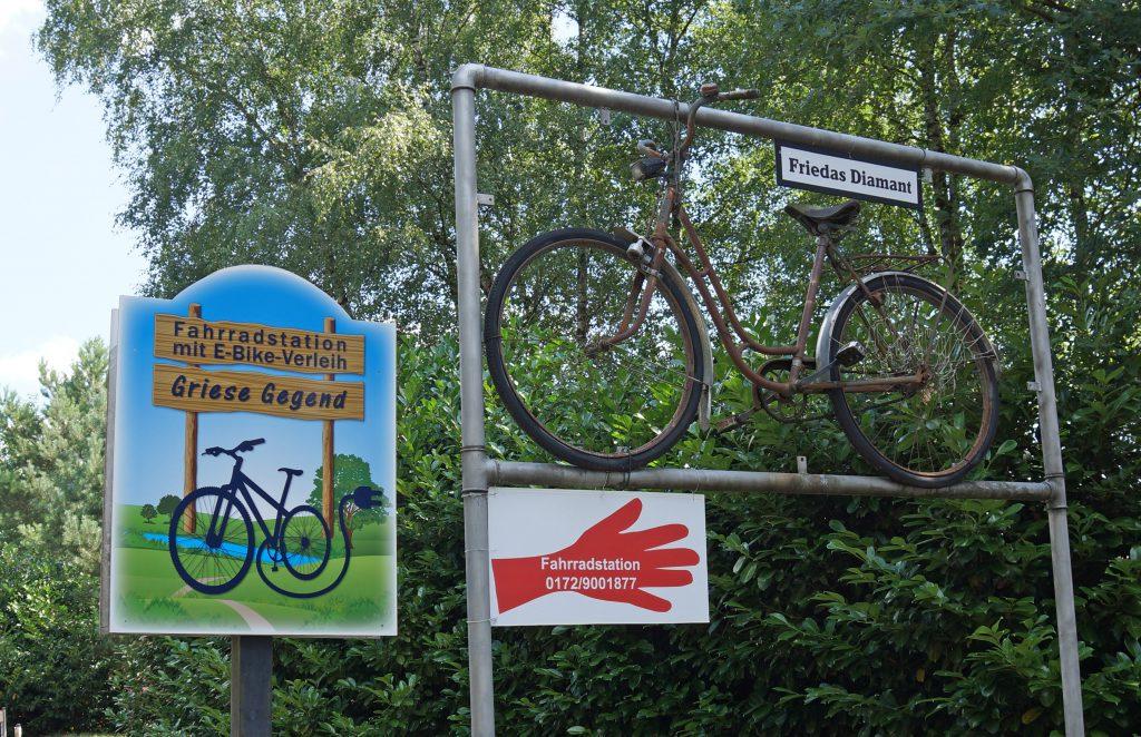 Radstation mit Infozentrum Mallißer Industriekultur